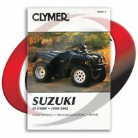 1998-2002 Suzuki LT-F500F Repair Manual Clymer M343-2 Service Shop Garage