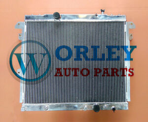 Aluminum Radiator for TOYOTA HILUX KUN16R KUN26R 3.0 Turbo Diesel 2005-2015 AT