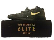 Nike Zoom Kobe VII 7 System Elite Size 12 Black/Gold/Grey Finals MVP 511371-001