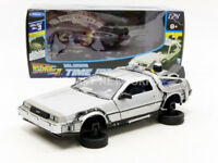 WELLY - 1/24 - DE LOREAN BACK TO THE FUTURE II - FLYING VERSION - 22441F