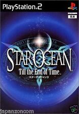 Used PS2 Star Ocean: Till the End of Time SONY PLAYSTATION JAPAN   IMPORT