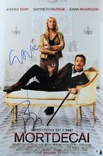 Johnny Depp Gwyneth Paltrow Signed Autographed 12X18 Photo Mortdecai GV801667