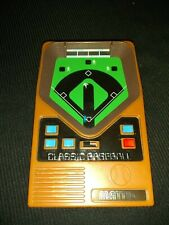Vintage 2001 Mattel Classic Baseball Handheld Electronic Video Game Tested Works