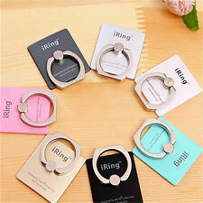 Universal 360° Finger Metal Ring Grip Stand Holder F Iphone Samsung Mobile Phone