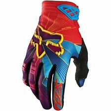 Fox Racing Youth Dirtpaw Radeon Gloves Blue/Red/Yellow/Pink Medium