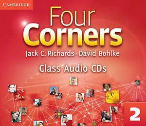 Four Corners Level 2 Class Audio CDs (3) by Jack C. Richards (English) Compact D