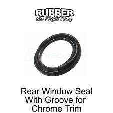 1975 - 1993 Dodge Truck Rear Window Seal Includes Chrome Lockstrip Trim