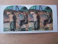 Stereo View Stereoscopic - Printed Image - Military Navel Army Soldiers WW1