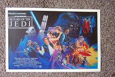 Return of the Jedi Movie poster Lobby Card #6 Mark Hamill - Harrison Ford ___