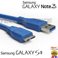 10FT 3M USB 3.0 DATA SYNC CHARGER CABLE FOR SAMSUNG GALAXY NOTE 3 N9000 S5 I9600