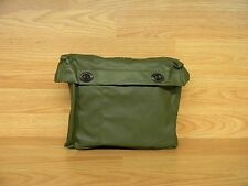 @SUPER@ BELGIUM MILITARY OD GREEN VINYL DITTY BAG WITH METAL TURN CLOSURES