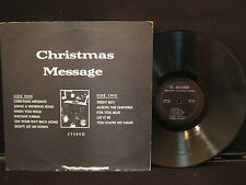 """THE BEATLES - """"CHRISTMAS MESSAGE"""", Immaculate Conception Records , CMBR-12"""