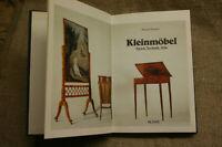 Sammlerbuch alte Kleinmöbel, Antikmöbel, Jugendstil, Biedermeier, Chippendale