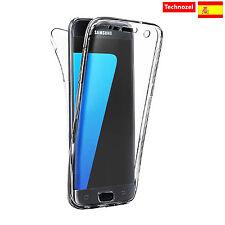 Protective Case 360º TPU Gel Transparent Double Case Samsung Galazy S7 Edge