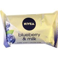 12 x NIVEA Blueberry & Milk Care Soap 90g Each