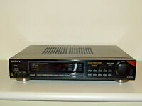 Sony ST-S730ES High-End Stereo FM/AM Vintage Tuner Schwarz, 2 Jahre Garantie