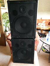 The Box PA12ECO MKII ? 2 Boxen 140 Watt RMS / 560 W Peak mit Stahlecken & Covern
