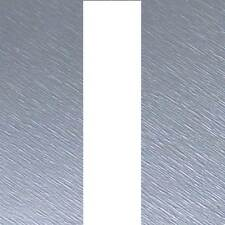 "Brushed SILVER Bonnet Stripes Viper Style 3m(10') x12.5cm(5"") fits SEAT"