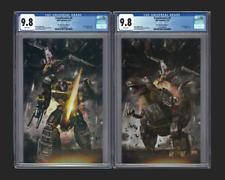 Transformers #5 CGC 9.8 John Gallagher VIRGIN Variant Set Grimlock and Swoop