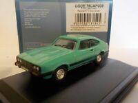Ford Capri MkIII Peppermint Sea Green, Oxford, OXF 76CAP009 1/76 New