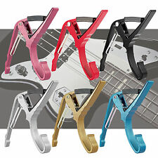 Aluminum Alloy Quick Clamp Key Capo for Acoustic Electric Guitar Change Trigger