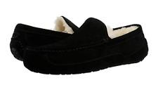 UGG Men's Ascot Moccasin Slippers 1101110 in Black Sz 7-13 NEW