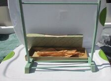 Madame Alexander Furniture Green Clothing Rack Original Box #67 Rare 1940's