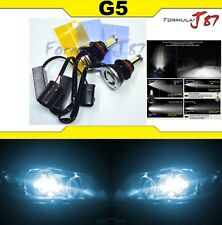 LED Kit G5 80W 9004 HB1 8000K Icy Blue Head Light Two Bulbs Dual Beam Upgrade
