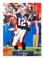 2002 Donruss Leaf Rookie & Stars Tom Brady #57