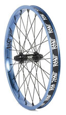 "RANT PARTY ON V2 BMX BIKE 20"" FRONT WHEEL FIT SHADOW SUBROSA CULT KINK HARO BLUE"