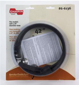 "Chapin Plus & Premier Garden Sprayer Replacement Hose Kit 42"" L 5/8"" 6-6136 NEW!"