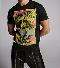 Dsquared2 Mens Another Pretty Face T-Shirt 100% Cotton Round Neck Tee Top
