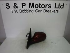 Peugeot 406 96-98 NS Electric Wing Mirror 7 Wire Red