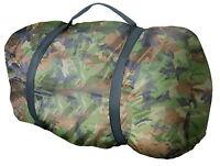 Army Piloten Schlafsack US Woodland Camouflage tarn camo Jäger Angler Camping BW