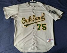 Men's Rawlings MLB Oakland Athletics jersey Barry Zito #75 size 48