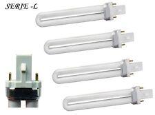 SET 4 BULBI RICAMBIO X LAMPADA UV PROFESSIONALE SERIE - L  UNGHIE  NAIL ART