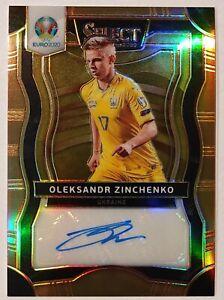 2020 Select Soccer UEFA EURO OLEKSANDR ZINCHENKO Copper Signatures 10/10 SSP HOT