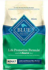 Blue Buffalo Life Protection Formula Adult Dry Dog Food Lamb & Brown Rice 6-lb