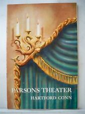 THE SOLID GOLD CADILLAC Playbill JOSEPHINE HULL Tryout HARTFORD 1953