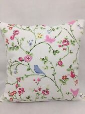 "1 X Vintage Shabby Chic, cushion covers,""Bird""100% cotton,16""x16"""
