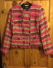 Juicy Couture Tweed Jacket Size Medium