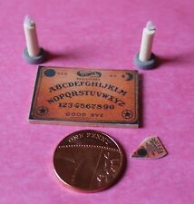 Dolls House Miniature Ouija Board &Candles (DD045) Additional Items P&P FREE