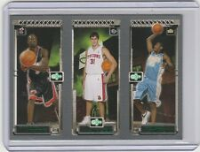 2003-04 TOPPS ROOKIE MATRIX WADE/MILICIC/ANTHONY ROOKIE CARD