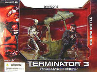 T3 Terminator Rise of the Machines  Action Fig Box Set Movie McFarlane Amricons