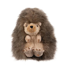 Wrendale Designs Mabel The Hedgehog Soft Plush Toy in Canvas Gift Bag
