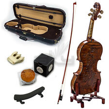 High Quality SKYVN634 Full Size Hand Carved  Artist Violin Antique Style