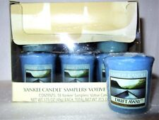 "Box Lot of 18 Yankee Candle Retired ""DRIFT AWAY""~ Sampler Votives ~ RARE ~NEW"
