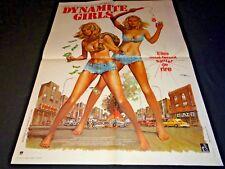 DYNAMITE GIRLS affiche cinema 1976