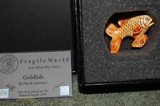 Harmony Kingdom Mp'S Fragile World~ Goldfish ~made in England