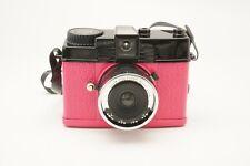 Lomography Used En Rose Diana Mini 35mm Film Camera Pink